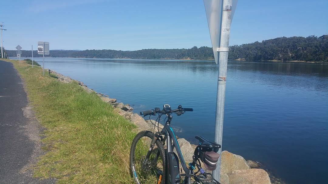 Bike riding around Wallaga Lake bermagui bermaguinsw farsouthcoast farsouthcoastnsw camperhirehellip