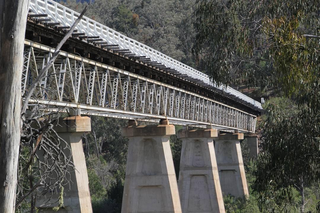 Mckillop Bridge over the Snowy River farsouthcoast farsouthcoastnsw bermagui bermaguinswhellip
