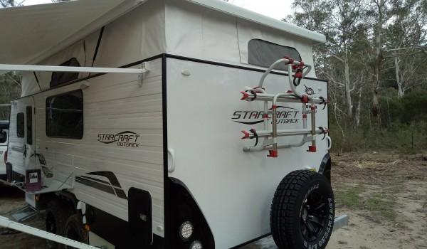 Jayco Starcraft family caravan