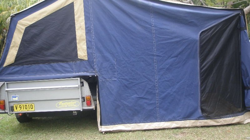 Customline camper trailer for hire