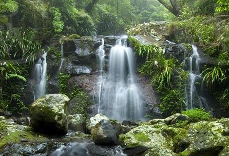 Byron Bay waterfall